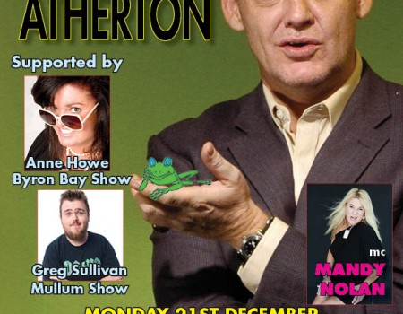 Jonathan Atherton..comedy genius…is BACK!
